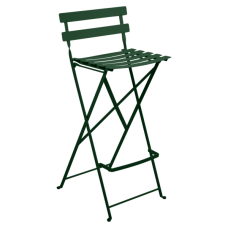 Bistro Foldable Bar Chair Cedar Green: фото - магазин CANVAS outdoor furniture.