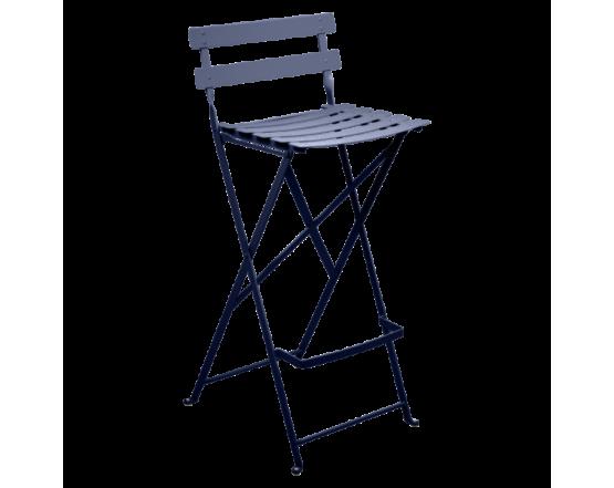 Барный стул  Bistro Foldable Bar Chair Deep Blue: фото - магазин CANVAS outdoor furniture.