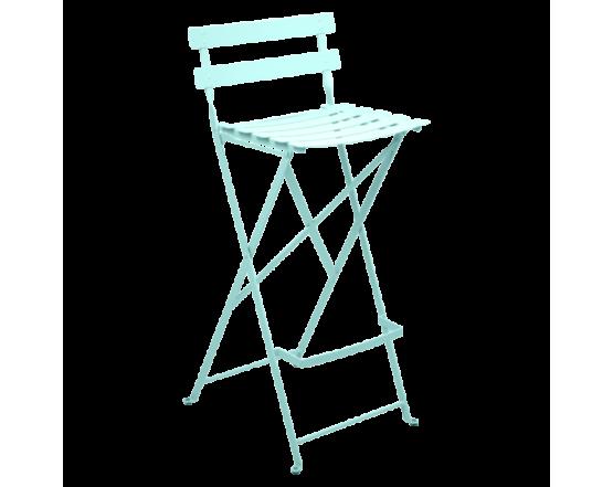 Барный стул  Bistro Foldable Bar Chair Lagoon Blue: фото - магазин CANVAS outdoor furniture.