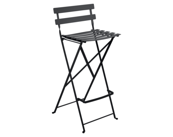 Барный стул  Bistro Foldable Bar Chair Antracite: фото - магазин CANVAS outdoor furniture.