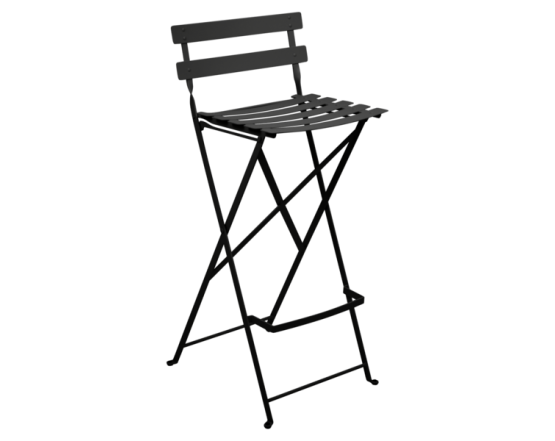 Барный стул  Bistro Foldable Bar Chair Liquorice: фото - магазин CANVAS outdoor furniture.