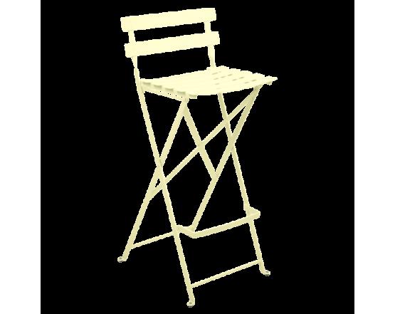 Барный стул  Bistro Foldable Bar Chair Frosted lemon: фото - магазин CANVAS outdoor furniture.