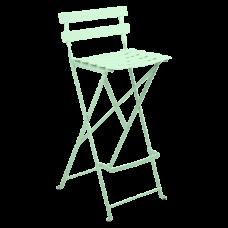 Bistro Foldable Bar Chair Opaline Green: фото - магазин CANVAS outdoor furniture.