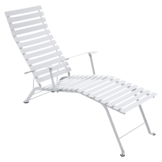 Bistro Chaise Longue Cotton White: фото - магазин CANVAS outdoor furniture.