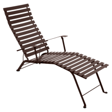 Bistro Chaise Longue Russet: фото - магазин CANVAS outdoor furniture.