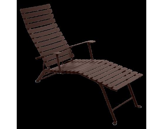Шезлонг Bistro Chaise Longue Russet: фото - магазин CANVAS outdoor furniture.