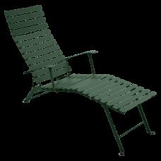 Bistro Chaise Longue Cedar Green: фото - магазин CANVAS outdoor furniture.