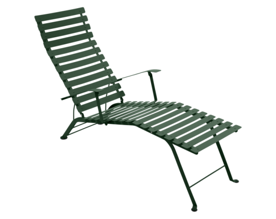Шезлонг Bistro Chaise Longue Cedar Green: фото - магазин CANVAS outdoor furniture.