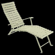 Bistro Chaise Longue Willow Green: фото - магазин CANVAS outdoor furniture.