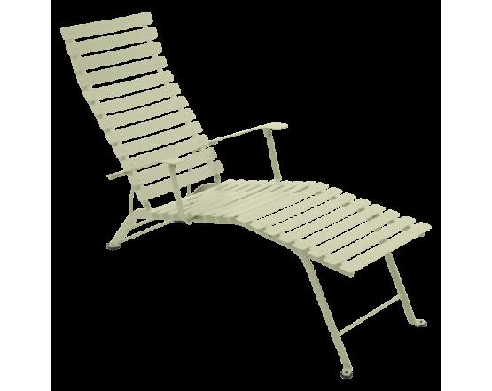 Шезлонг Bistro Chaise Longue Willow Green: фото - магазин CANVAS outdoor furniture.