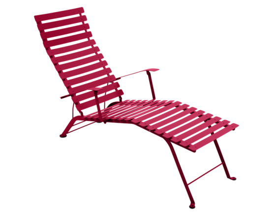 Шезлонг Bistro Chaise Longue Pink Praline: фото - магазин CANVAS outdoor furniture.