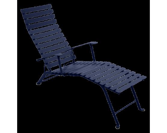 Шезлонг Bistro Chaise Longue Deep Blue: фото - магазин CANVAS outdoor furniture.