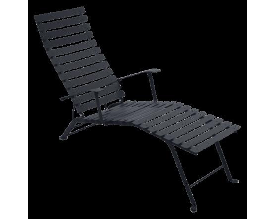 Шезлонг Bistro Chaise Longue Anthracite: фото - магазин CANVAS outdoor furniture.
