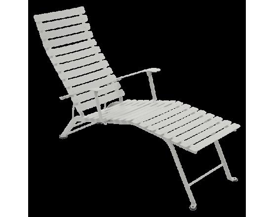 Шезлонг Bistro Chaise Longue Steel Grey: фото - магазин CANVAS outdoor furniture.