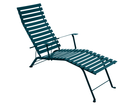 Шезлонг Bistro Chaise Longue Acapulco Blue: фото - магазин CANVAS outdoor furniture.