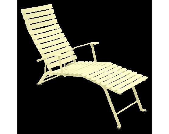 Шезлонг Bistro Chaise Longue Frosted lemon: фото - магазин CANVAS outdoor furniture.