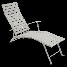 Bistro Chaise Longue Clay Grey: фото - магазин CANVAS outdoor furniture.