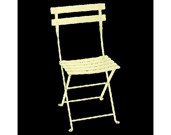 Стул Bistro Metal Chair Frosted lemon: фото - магазин CANVAS outdoor furniture.