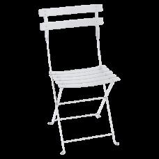 Bistro Metal Chair Cotton White: фото - магазин CANVAS outdoor furniture.