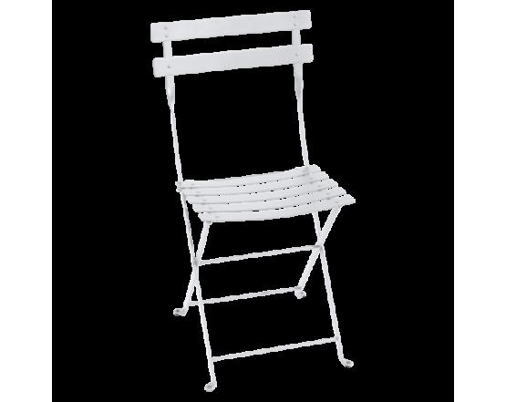 Стул Bistro Metal Chair Cotton White: фото - магазин CANVAS outdoor furniture.