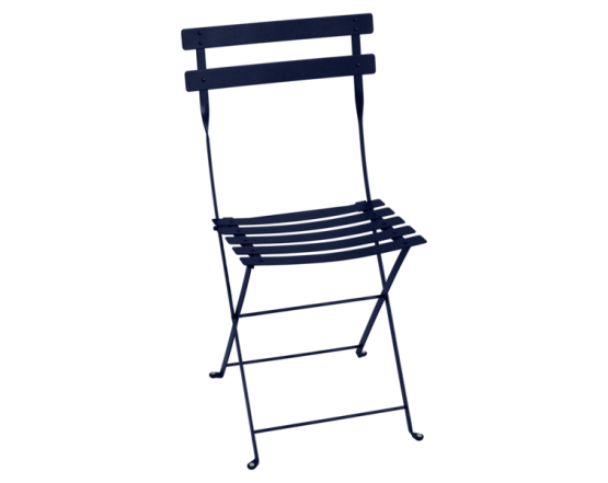 Стул Bistro Metal Chair Deep Blue: фото - магазин CANVAS outdoor furniture.