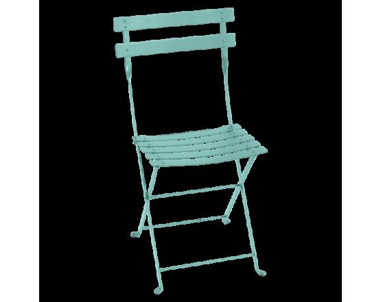 Стул Bistro Metal Chair Lagoon Blue : фото - магазин CANVAS outdoor furniture.