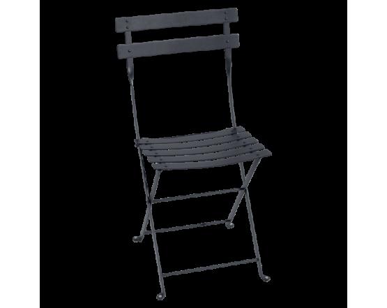 Стул Bistro Metal Chair Antracite: фото - магазин CANVAS outdoor furniture.