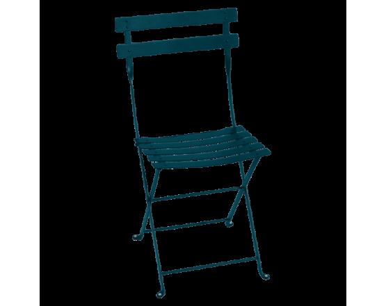 Стул Bistro Metal Chair Acapulco Blue: фото - магазин CANVAS outdoor furniture.