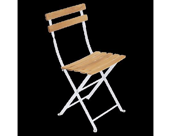 Стул Bistro Natural Chair Cotton White: фото - магазин CANVAS outdoor furniture.