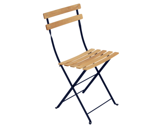 Стул Bistro Natural Chair Deep Blue: фото - магазин CANVAS outdoor furniture.