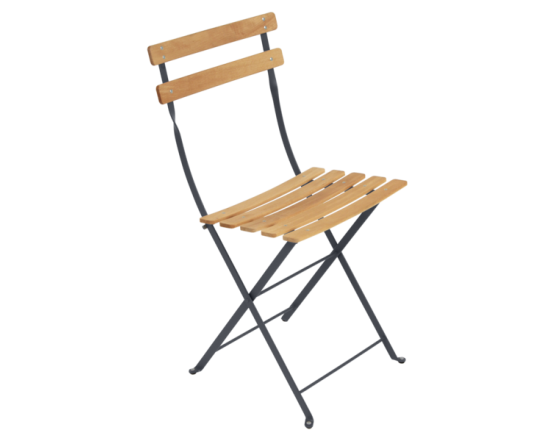 Стул Bistro Natural Chair Anthracite: фото - магазин CANVAS outdoor furniture.