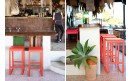 Барный стул Bellevie Bar Stool Red Ochre: фото - магазин CANVAS outdoor furniture.