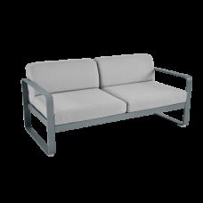 Диван Bellevie 2 Seater Flannel Grey Cushions: фото - магазин CANVAS outdoor furniture.