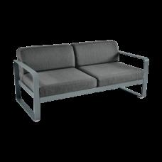 Диван Bellevie 2 Seater Graphite Grey Cushions: фото - магазин CANVAS outdoor furniture.