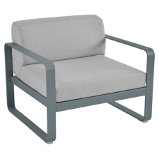 Кресло Bellevie Armchair Flannel Grey Cushions : фото - магазин CANVAS outdoor furniture.