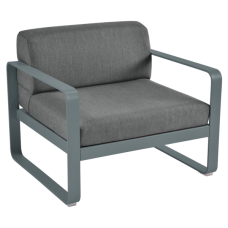 Кресло Bellevie Armchair Graphite Grey Cushions : фото - магазин CANVAS outdoor furniture.