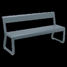 Скамейка Bellevie Bench With Backrest: фото - магазин CANVAS outdoor furniture.