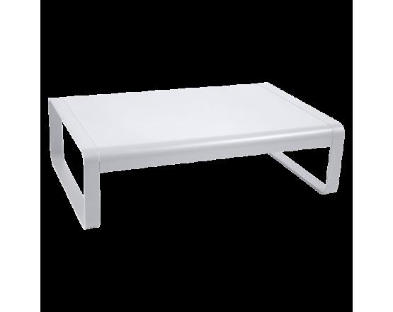 Кофейный столик Bellevie Low Table 103x75 Cotton White: фото - магазин CANVAS outdoor furniture.