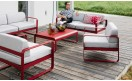Кофейный столик Bellevie Low Table 103x75 Poppy: фото - магазин CANVAS outdoor furniture.
