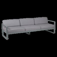 Диван Bellevie 3 Seater Flannel Grey Cushions: фото - магазин CANVAS outdoor furniture.