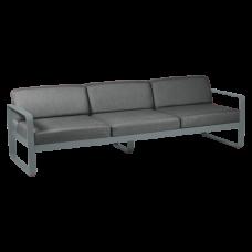 Диван Bellevie 3 Seater Graphite Grey Cushions: фото - магазин CANVAS outdoor furniture.