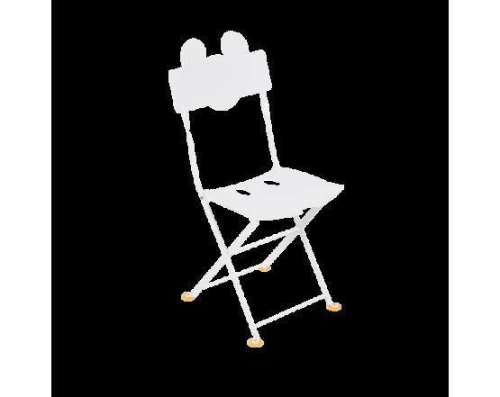 Стул Junior Bistro Chair Mickey Mouse Cotton White: фото - магазин CANVAS outdoor furniture.