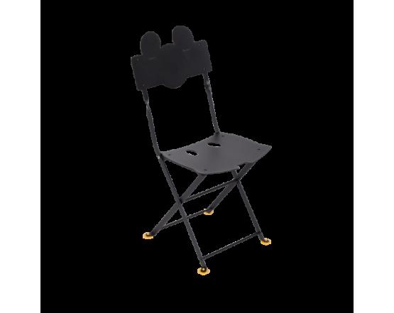Стул Junior Bistro Chair Mickey Mouse Liquorice: фото - магазин CANVAS outdoor furniture.