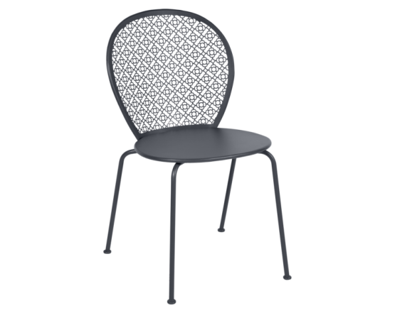 Стул Lorette Chair Anthracite: фото - магазин CANVAS outdoor furniture.
