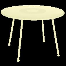 Lorette Table 110 Frosted lemon: фото - магазин CANVAS outdoor furniture.