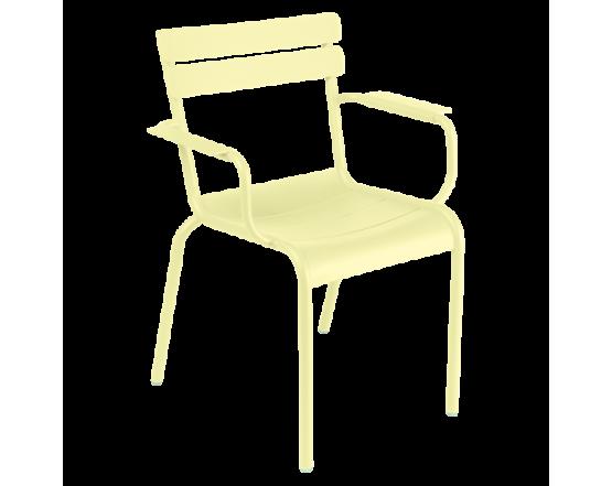Кресло Luxembourg Armchair Frosted lemon: фото - магазин CANVAS outdoor furniture.
