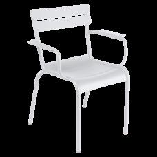 Luxembourg Armchair Cotton White: фото - магазин CANVAS outdoor furniture.