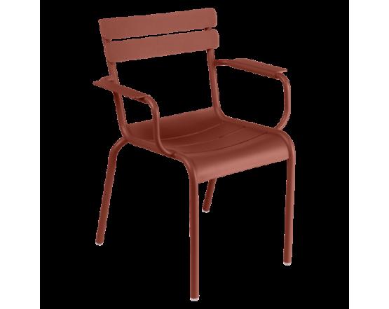 Кресло Luxembourg Armchair Red Ochre: фото - магазин CANVAS outdoor furniture.