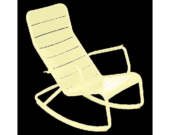 Кресло-качалка Luxembourg Frosted lemon: фото - магазин CANVAS outdoor furniture.