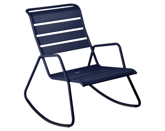 Кресло-качалка Monceau Deep Blue: фото - магазин CANVAS outdoor furniture.
